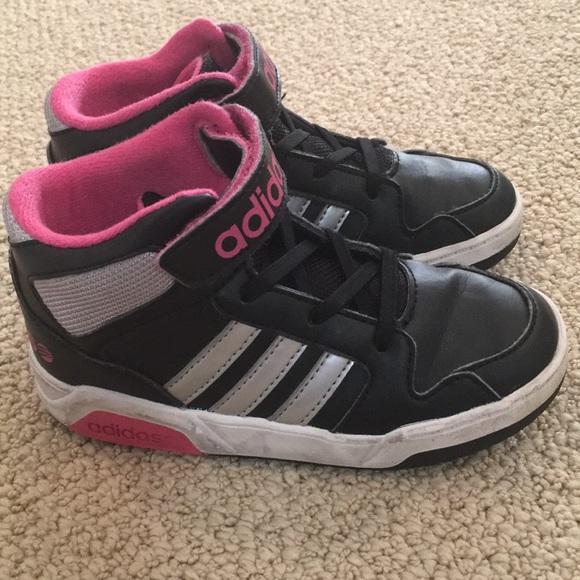 Adidas zapatos toddler girl High Top zapatilla poshmark Slip - on